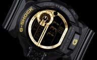 Black And Gold G Shock 7 Desktop Wallpaper