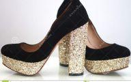 Black And Gold Heels 19 Hd Wallpaper