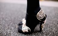 Black And Gold Heels 22 Cool Wallpaper
