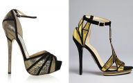 Black And Gold Heels 26 Widescreen Wallpaper
