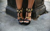 Black And Gold Heels 6 High Resolution Wallpaper