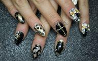 Black And Gold Nails 2 Free Wallpaper