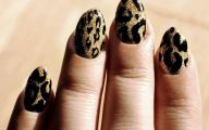 Black And Gold Nails 21 Cool Wallpaper
