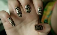 Black And Gold Nails 24 Free Hd Wallpaper
