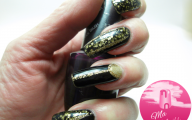 Black And Gold Nails 25 Cool Wallpaper