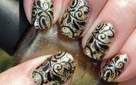 Black And Gold Nails 28 Hd Wallpaper