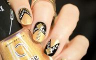 Black And Gold Nails 29 Widescreen Wallpaper