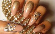 Black And Gold Nails 7 Free Hd Wallpaper