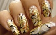 Black And Gold Nails 9 Cool Wallpaper