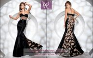 Black And Gold Prom Dresses 1 Desktop Wallpaper