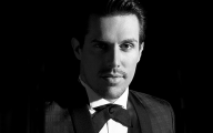 Black And Gold Sam Sparro 41 Wide Wallpaper