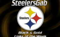 Black And Gold Steelers 41 Desktop Background