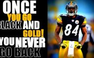 Black And Gold Steelers 6 Background Wallpaper
