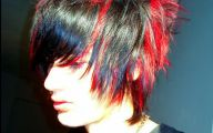 Black And Red Hairstyle Ideas 3 Desktop Wallpaper