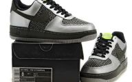 Black And Silver Air Force Ones 26 Cool Hd Wallpaper