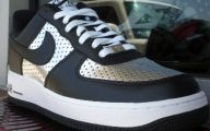 Black And Silver Air Force Ones 5 Cool Hd Wallpaper