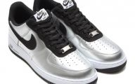 Black And Silver Air Force Ones 8 Wide Wallpaper