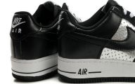 Black And Silver Air Force Ones 9 Hd Wallpaper