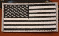 Black And Silver American Flag 16 Free Wallpaper