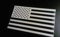 Black And Silver American Flag 29 Cool Hd Wallpaper
