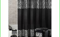 Black And Silver Curtains 7 Wide Wallpaper