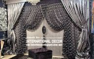 Black And Silver Curtains 9 Background