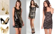 Black And Silver Dress 14 High Resolution Wallpaper