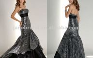 Black And Silver Gown 21 Background