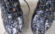Black And Silver Shoes 14 Cool Hd Wallpaper