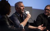 Black And White Kevin Costner 8 Hd Wallpaper