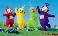 Black And White Teletubbies 1 Free Hd Wallpaper