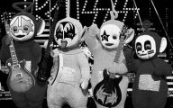 Black And White Teletubbies 14 High Resolution Wallpaper