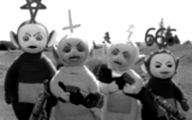 Black And White Teletubbies 24 Free Wallpaper