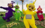 Black And White Teletubbies 31 Cool Wallpaper