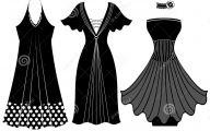 Black And White Women's Clothing 15 Desktop Wallpaper
