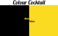 Black And Yellow Color Mix 11 Background Wallpaper