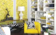 Black And Yellow Color Mix 7 Wide Wallpaper
