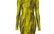 Black And Yellow Dress Uk 1 Background