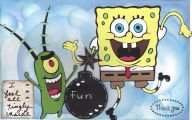 Black And Yellow Spongebob 18 Background