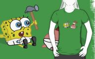 Black And Yellow Spongebob 9 Hd Wallpaper