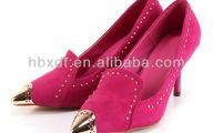 Black Dress Hot Pink Shoes 10 Desktop Wallpaper