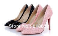 Black Dress Hot Pink Shoes 2 Cool Wallpaper