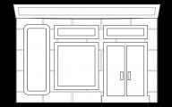 Black & White Shop 12 Widescreen Wallpaper