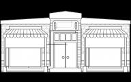 Black & White Shop 13 Hd Wallpaper