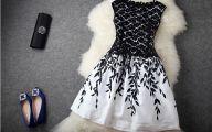 Cheap Women Black And White Dresses 27 Background Wallpaper