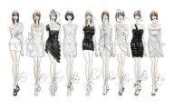 Designer Black And White Dresses For Women 1 Desktop Background