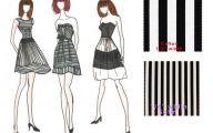 Designer Black And White Dresses For Women 12 Widescreen Wallpaper