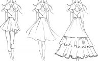 Designer Black And White Dresses For Women 18 Wide Wallpaper