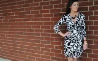Designer Black And White Dresses For Women 2 Desktop Wallpaper