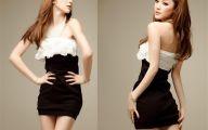 Designer Black And White Dresses For Women 8 Desktop Wallpaper